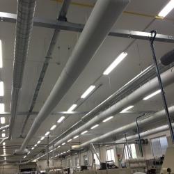 Power - One Dubnica nad Váhom – klimatizácia výrobných hál